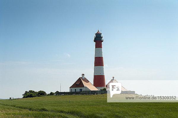 Deutschland  Schleswig-Holstein  Westerhever  Westerheversand-Leuchtturm
