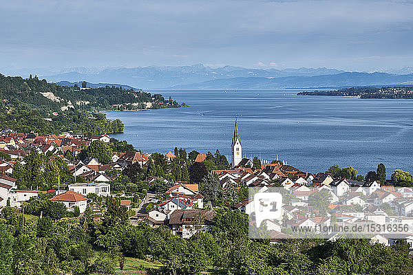 View over Sipplingen and Lake Constance  Germany