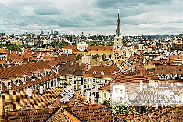 Stadtbild  Kleinseite von Prag  Tschechische Republik