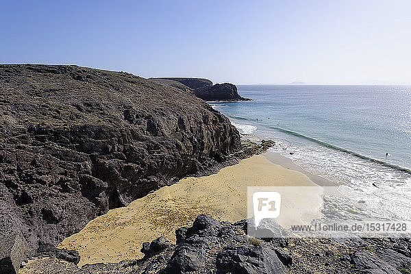 Playas de Papagayo  Lanzarote  Spain