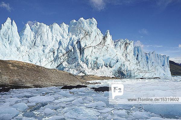 Front des Perito-Moreno-Gletschers  Canal de los Tempanos  Los Glaciares-Nationalpark  Patagonien  Argentinien