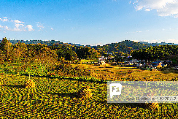 Asuka  first imperial capital recorded  Nara prefecture  Kansai  Honshu  Japan.