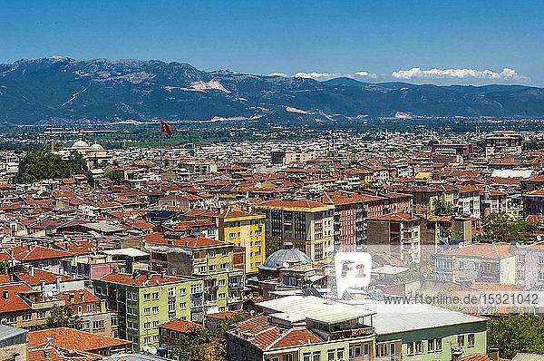 Turkey  Bursa  capital city of Anatolia