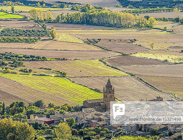 Spain  Autonomous community of Aragon  province of Huesca  agricultural plain of Loarre  municipality of Loarre