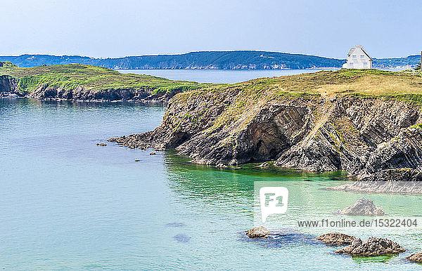 France  Brittany  Crozon Peninsula  Ile de l'Aber and pointe de Raguenez
