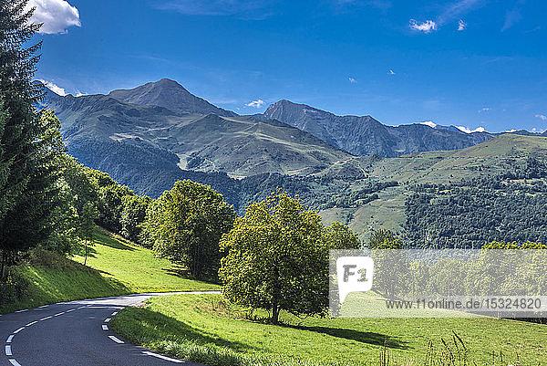 France  Hautes-Pyrenees  Vallee d'Aure  vallee du Louron