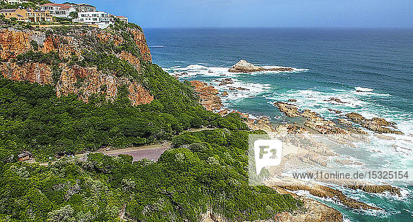 South Africa  Western Cape province  Garden Route  Knysna viewpoint of the Indian Ocean