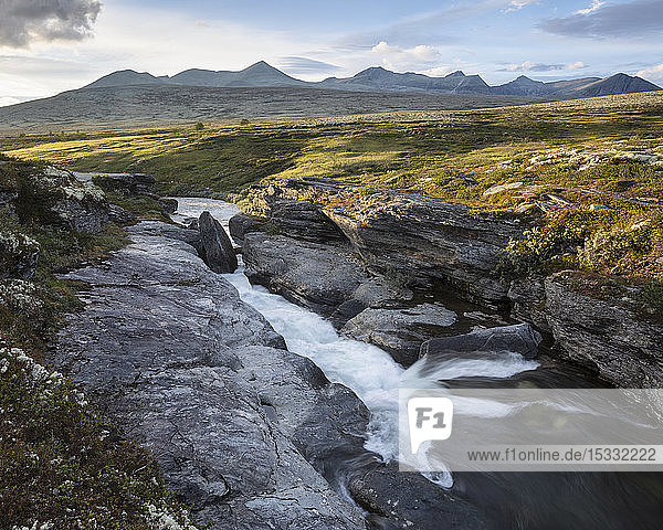 River through Rondane National Park  Norway