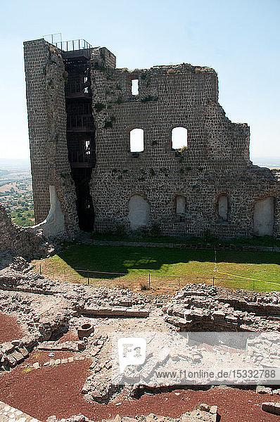 Europe  Italy  Lazio  Montefiascone  Rocca dei Papi  Rock of the Popes