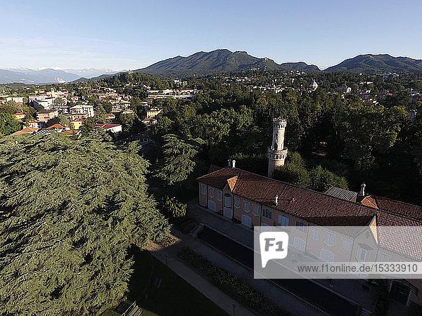 Italy  Lombardy  Varese  Villa Mirabello palace