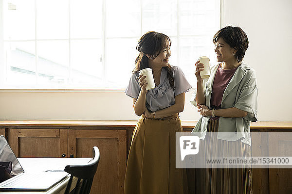 Japanese women in the office