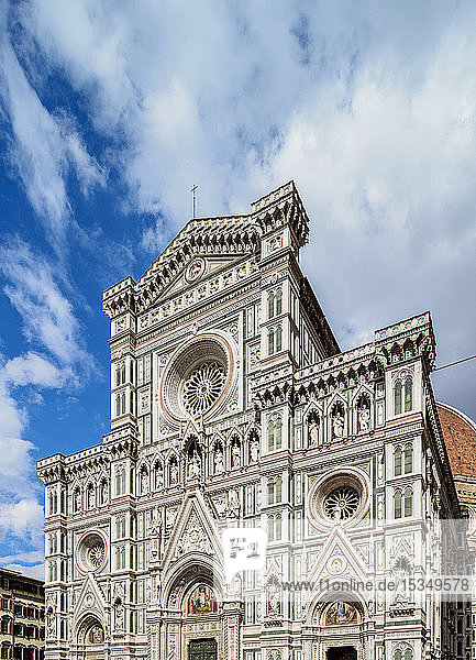 Santa Maria del Fiore Cathedral  Florence  UNESCO World Heritage Site  Tuscany  Italy  Europe
