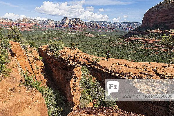 Devils Bridge  Sedona  Arizona  United States of America  North America