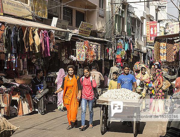 Mandi Market  Udaipur  Rajasthan  India  Asia