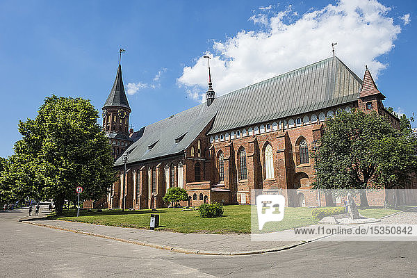 Kant's Cathedral  Kant island  Kaliningrad  Russia  Europe