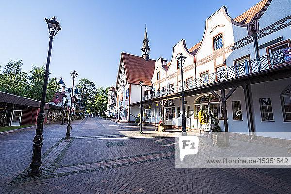 Old German buildings  Kaliningrad  Russia  Europe