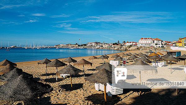 Conceicao Beach in Cascais  Lisbon region  Costa Verde  Portuguese Riviera  Portugal  Europe