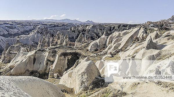 Panorama der Landschaft  Göreme  Isparta  T�rkei