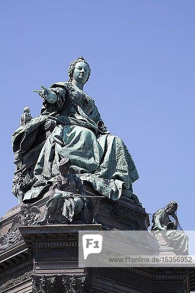 Maria-Theresien-Denkmal  Maria-Theresien-Platz  Wien  Österreich  Europa