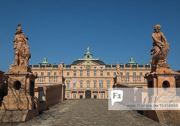 Schloss Rastatt  Residenzschloss  Rastatt  Schwarzwald  Baden-Württemberg  Deutschland  Europa