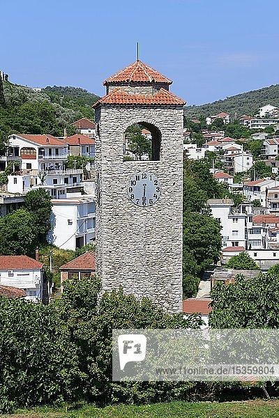 Uhrturm Sat kula  Ulcinj  Montenegro  Europa