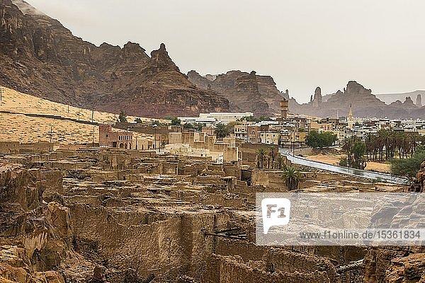 Alte Geisterstadt Al Ula  Saudi-Arabien  Asien