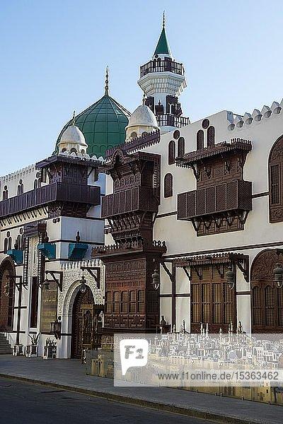Gebäude im Al Taybat City Museum  Altstadt  Unesco-Weltkulturerbe  Jeddah  Saudi-Arabien  Asien