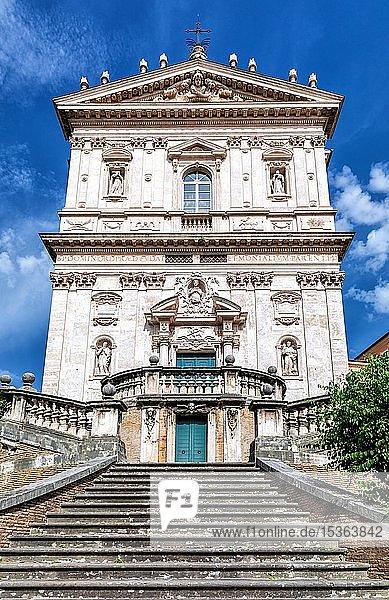 Die Kirche von Santi Domenico e Sisto  Rom  Latium  Italien  Europa