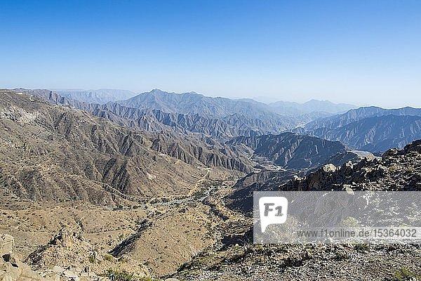 Bergregion um Abha  Saudi-Arabien  Asien