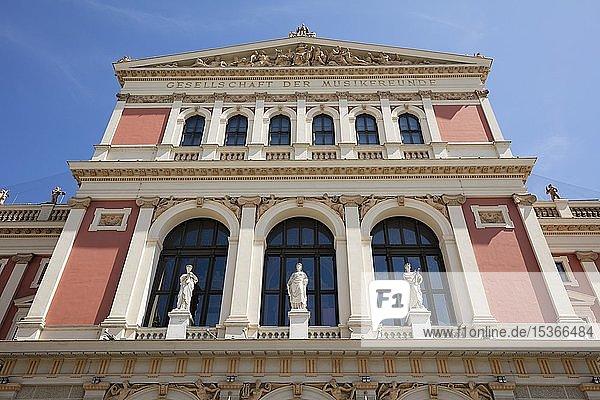 Konzerthaus Wiener Musikverein  Wien  Österreich  Europa