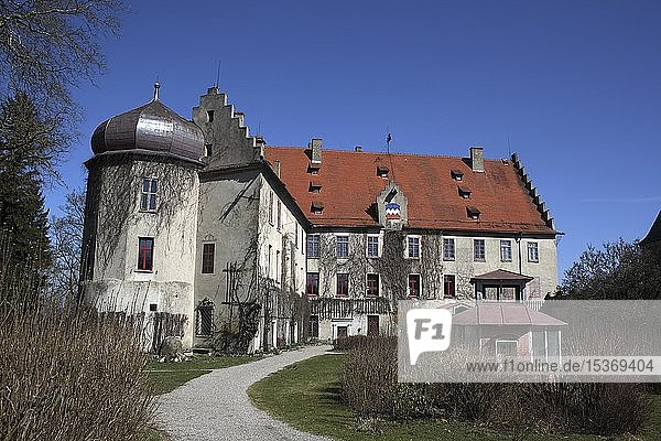 Schloss Warthausen  Landkreis Biberach  Oberschwaben  Baden-Württemberg  Deutschland  Europa