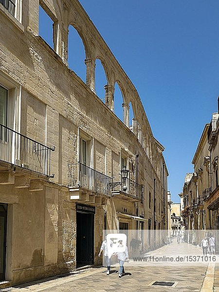 Altstadt von Lecce  Lecce  Apulien  Italien  Europa