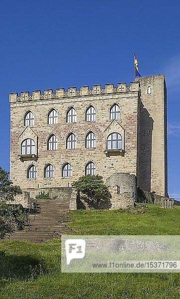 Hambacher Schloss  historische Stätte für Entwicklung der deutschen Demokratie  Hambach  Neustadt an der Weinstraße  Rheinland-Pfalz  Deutschland  Europa