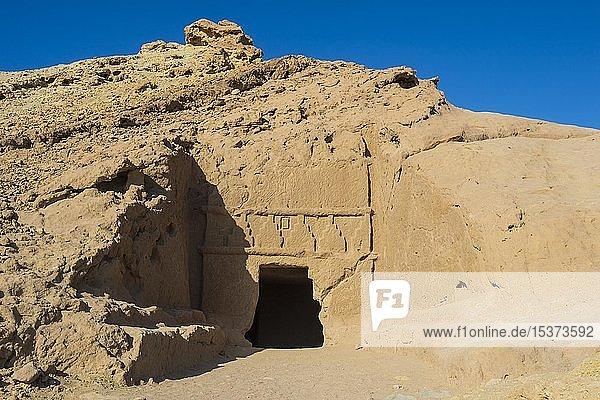 Nabatäische Siedlung Al Bidaya Nabataean  Provinz Tabuk  Saudi-Arabien  Asien