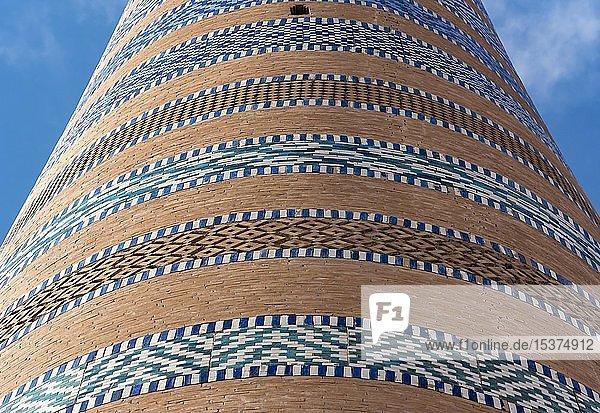 Islom Hoja  Islam Khodja  Minarett  Chiwa  Usbekistan  Asien