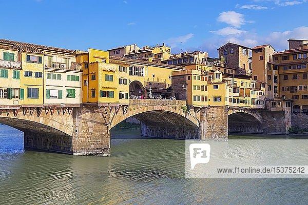 Ponte Vecchio  Florenz  Toskana  Italien  Europa