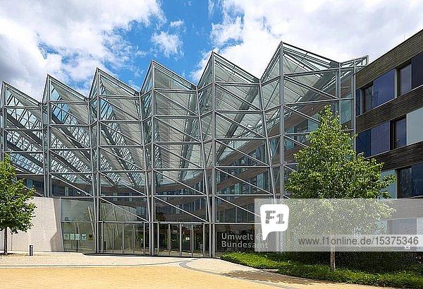Umweltbundesamt  Eingangsbereich  Dessau-Roßlau  Sachsen-Anhalt  Deutschland  Europa