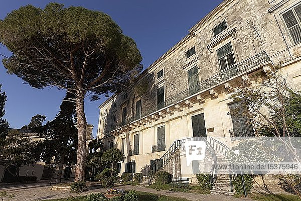 Pinakothek von Kerkyra im Palast St. Michael und St. Georg  auch Alter Palast  Korfu-Stadt  Insel Korfu  Ionische Inseln  Griechenland  Europa
