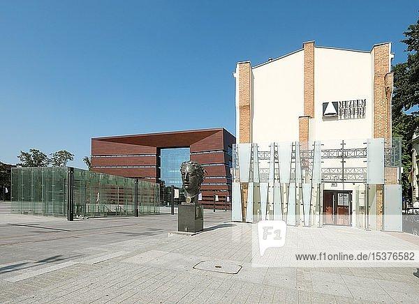 Theatermuseum und Nationales Musikforum  Breslau  Polen  Europa