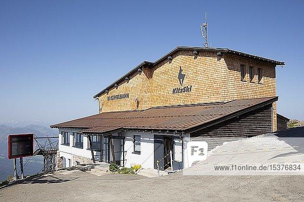 Bergstation der Bergbahn am Kitzbüheler Horn  Kitzbühel  Tirol  Österreich  Europa