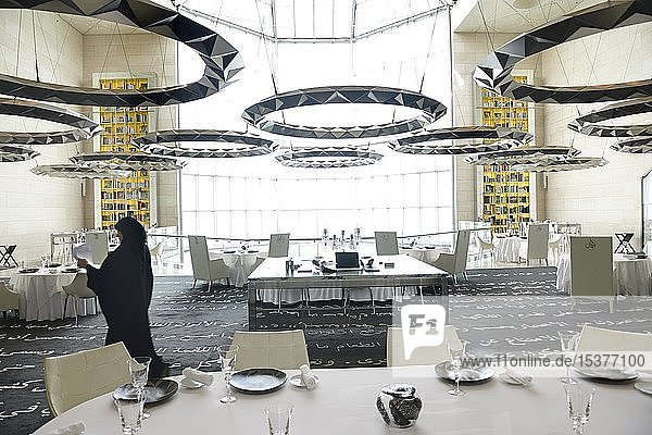 Restaurant Idam  Museum of Islamic Art  Doha  Katar  Asien Restaurant Idam, Museum of Islamic Art, Doha, Katar, Asien