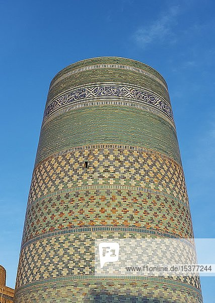 Kalta Minor Minarett  Chiwa  Usbekistan  Asien