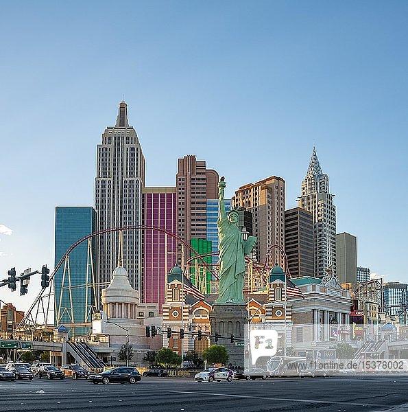 New York New York Hotel und Casino  Las Vegas Strip  Las Vegas  Nevada  USA  Nordamerika