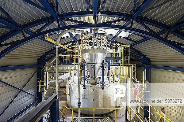 Abgasreinigungsanlage  Müllverbrennungsanlage  TREA Breisgau  Eschbach  Baden-Württemberg  Deutschland  Europa