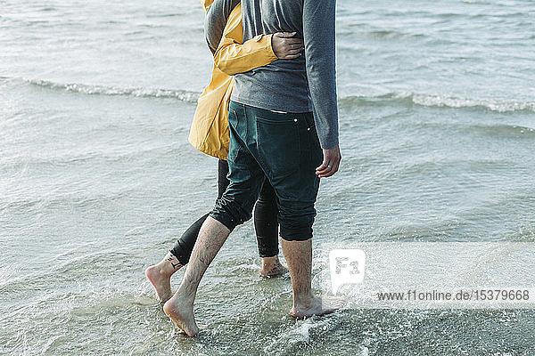 Strandspaziergang für Paare in Heiligenhafen