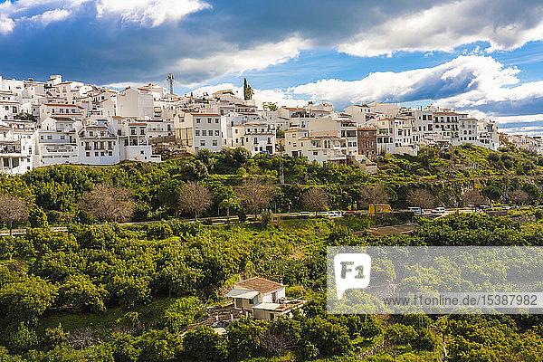 Spanien  Mijas altes weißes Dorf