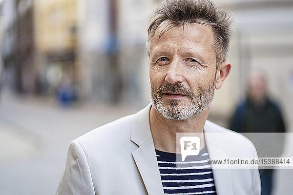 Bildnis eines reifen Mannes mit grauem Bart