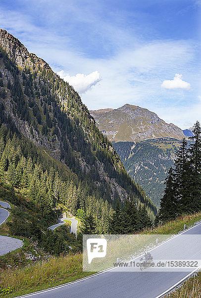 Österreich  Vorarlberg  Silvretta Hochalpenstraße  Montafon