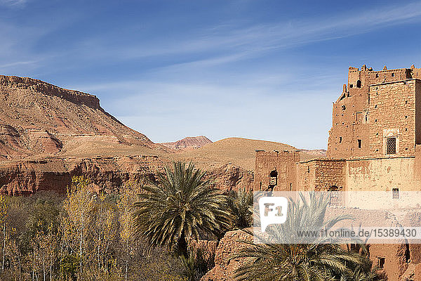 Morocco  Ait-Ben-Haddou  Kasbah