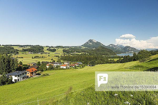 Österreich,  Salzkammergut,  Fuschlsee